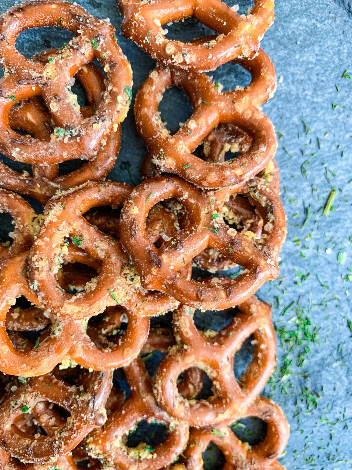 Easy Ranch Pretzels Recipe