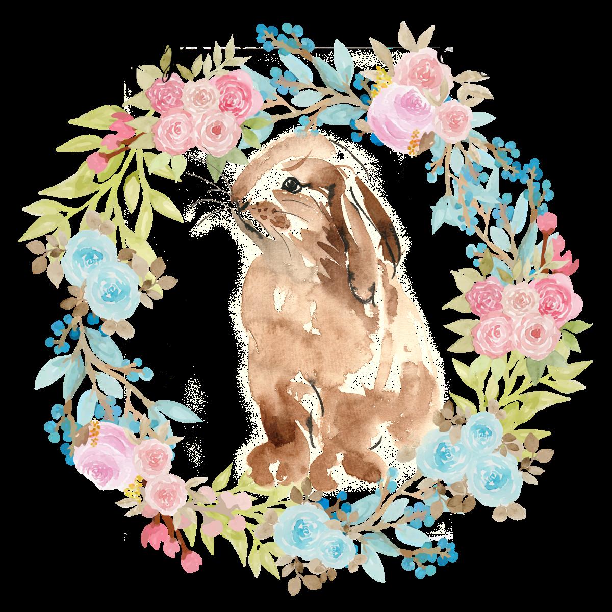 Free Watercolor Easter Printable