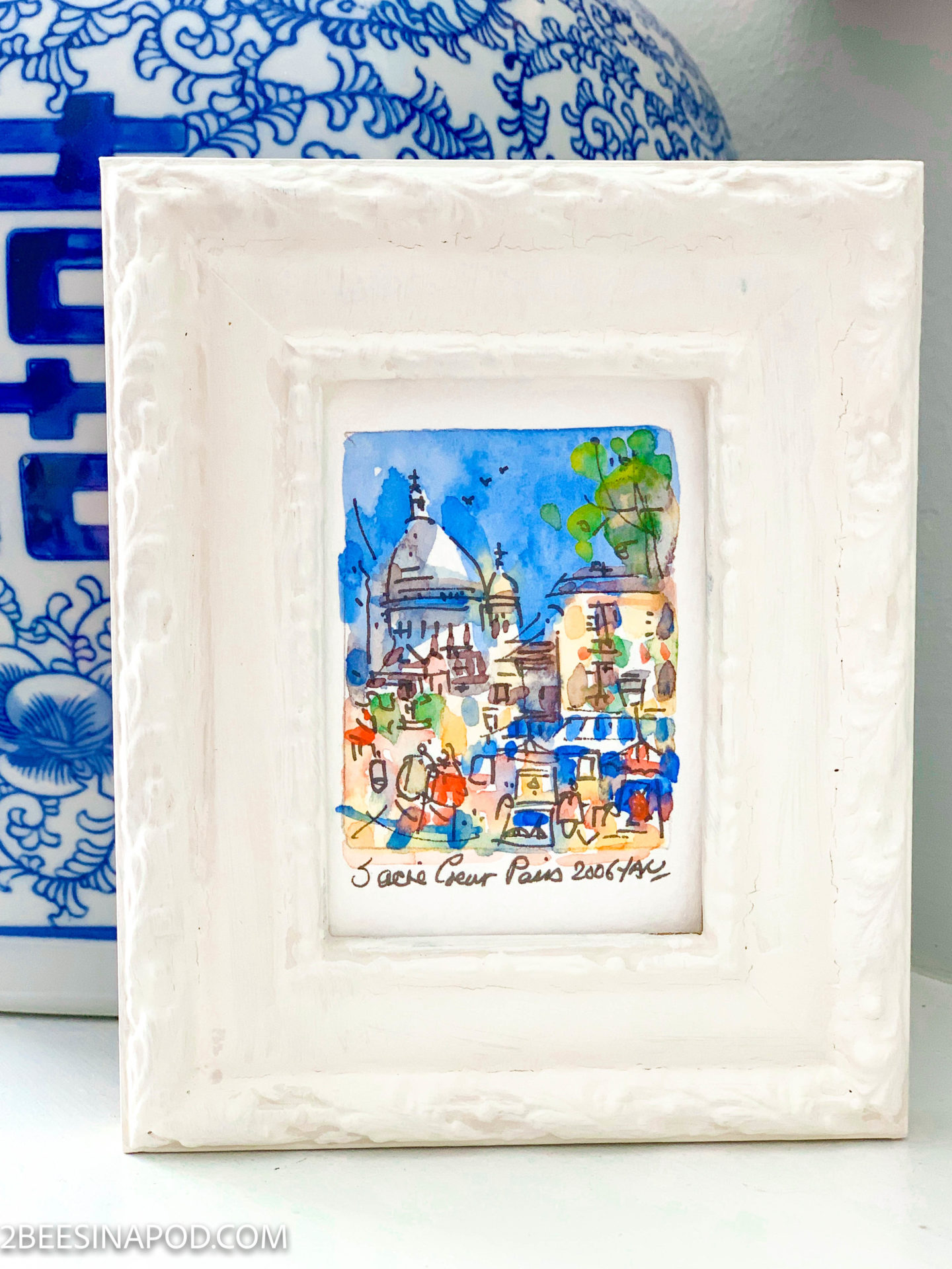 Painted Frame Makeover – Thrifty Style Team