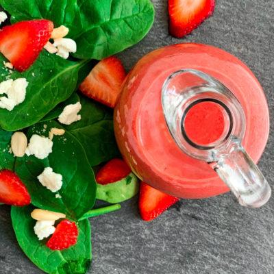Easy Strawberry Vinaigrette Dressing