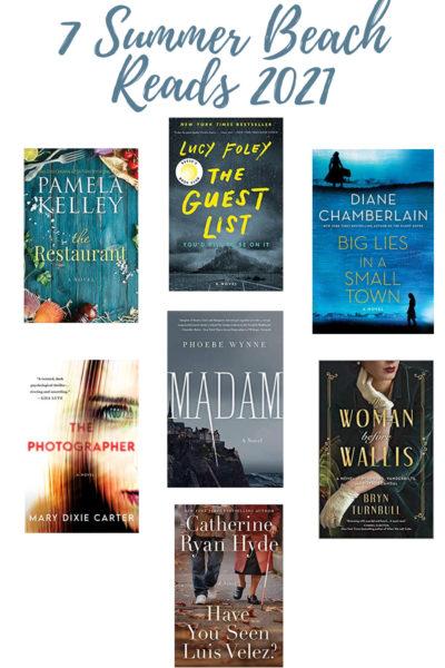 Summer Reading List – 7 Perfect Beach Reads