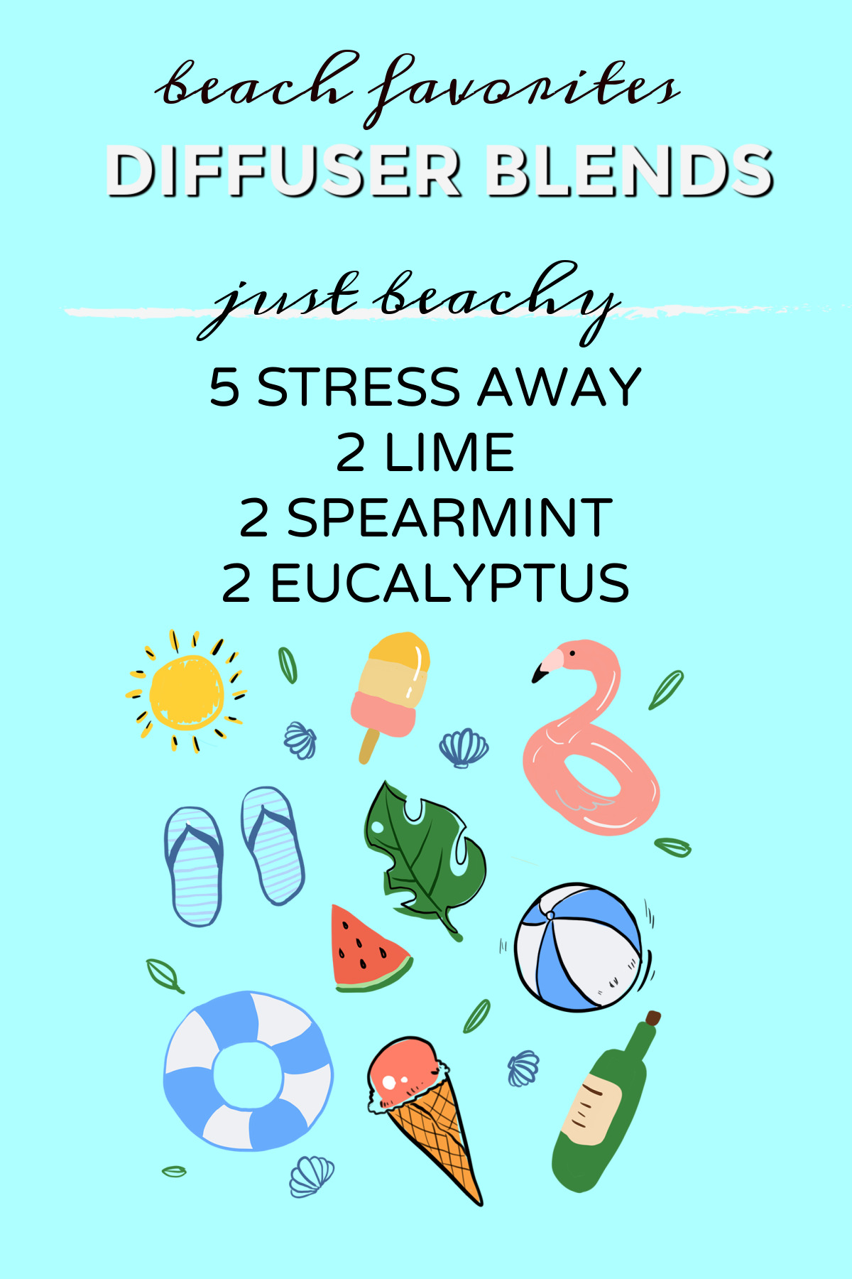 Beach Inspired Diffuser Blends – Hear the Waves
