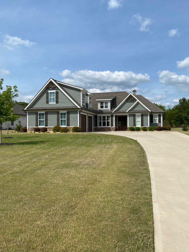Home exterior for new home