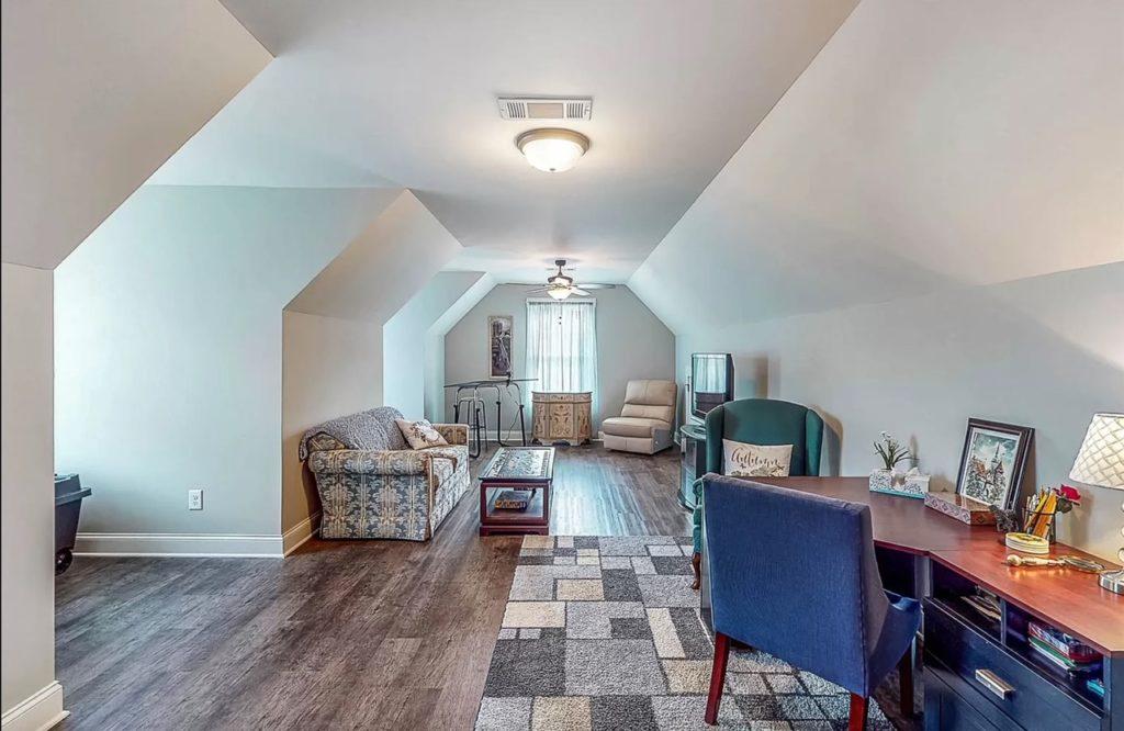 Bonus room loft space