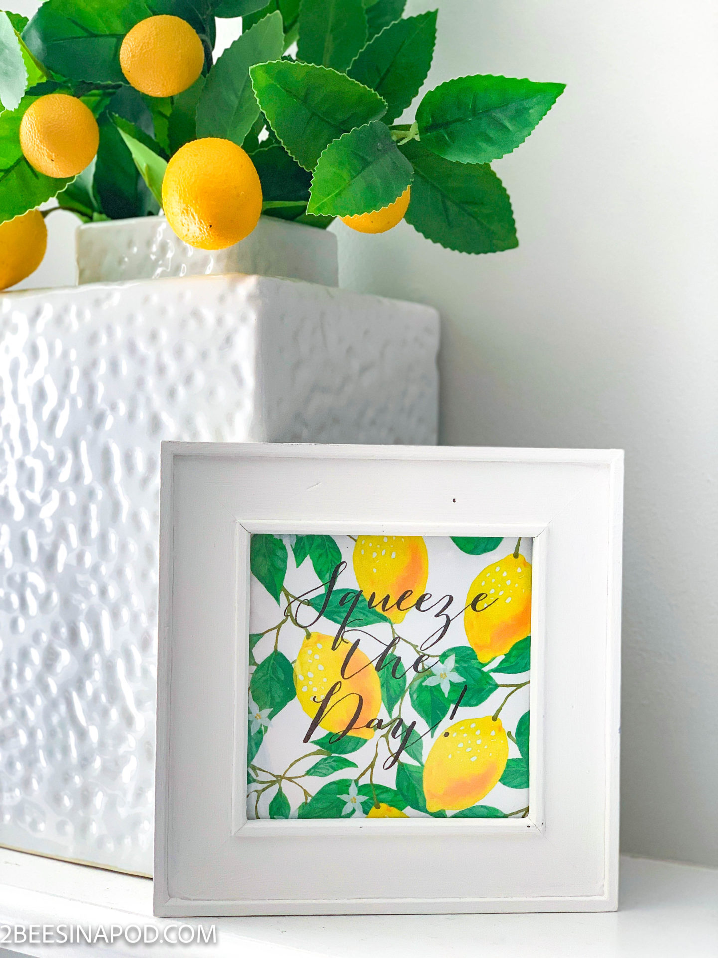 Lemon Printable 2 Ways