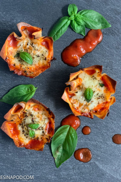Pizza Wonton Cups – Delicious and Easy to Make