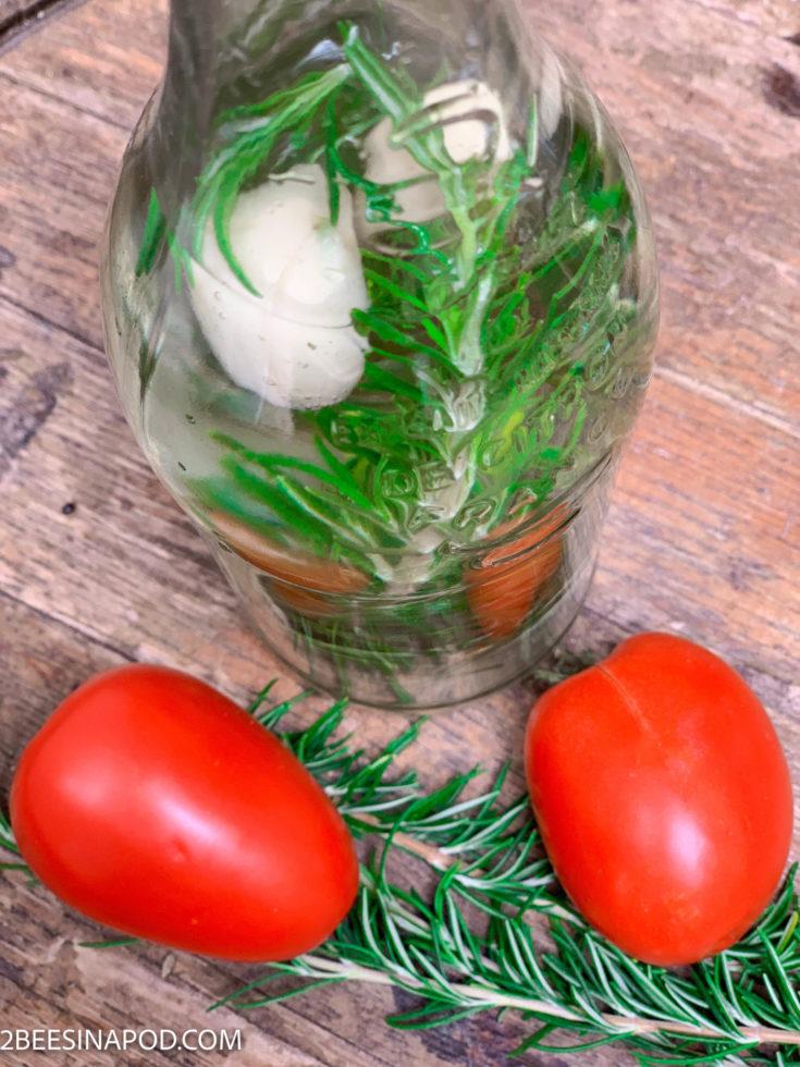Rosemary White Wine Vinegar