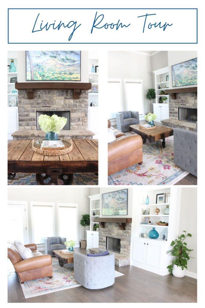 New Home Living Room Tour