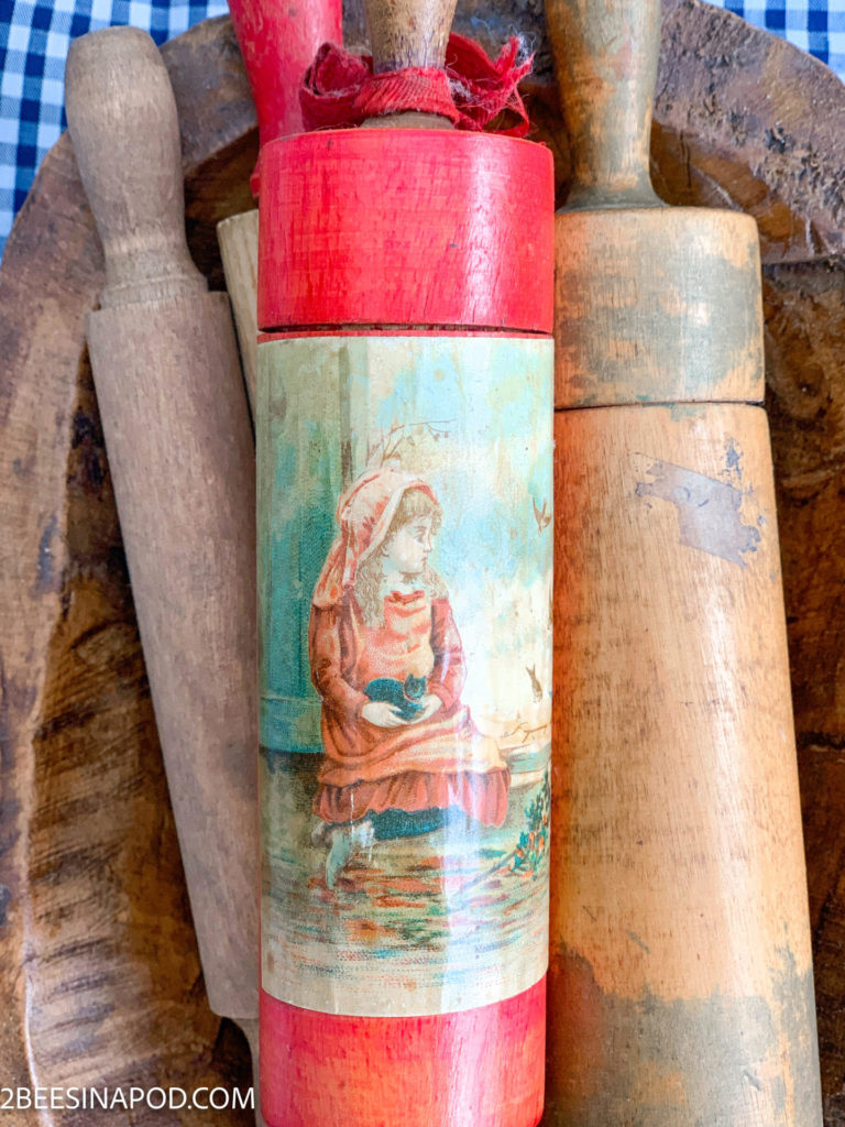 10 ways to repurpose things from the thrift store - child rolling pin