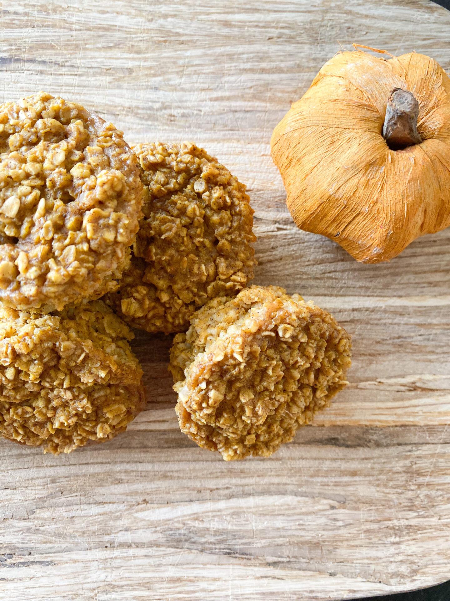 Flourless Pumpkin Muffins (Baby + Toddler)