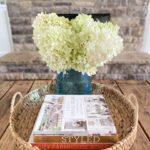 coffee table floral arrangement