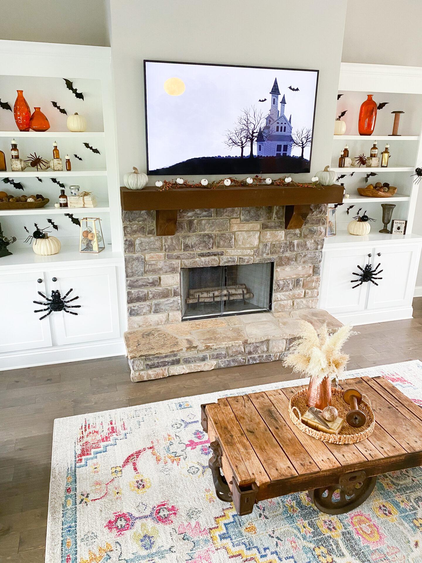 Halloween Living Room Decor – Spooky Ideas
