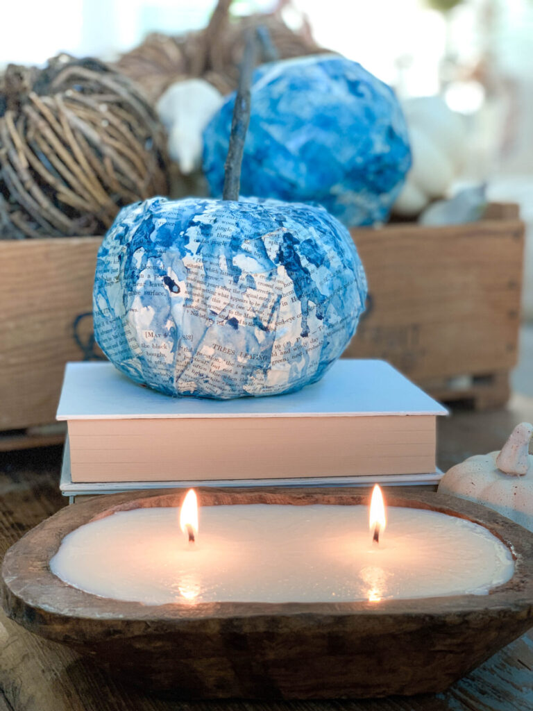 How to Make a Dough Bowl Candle