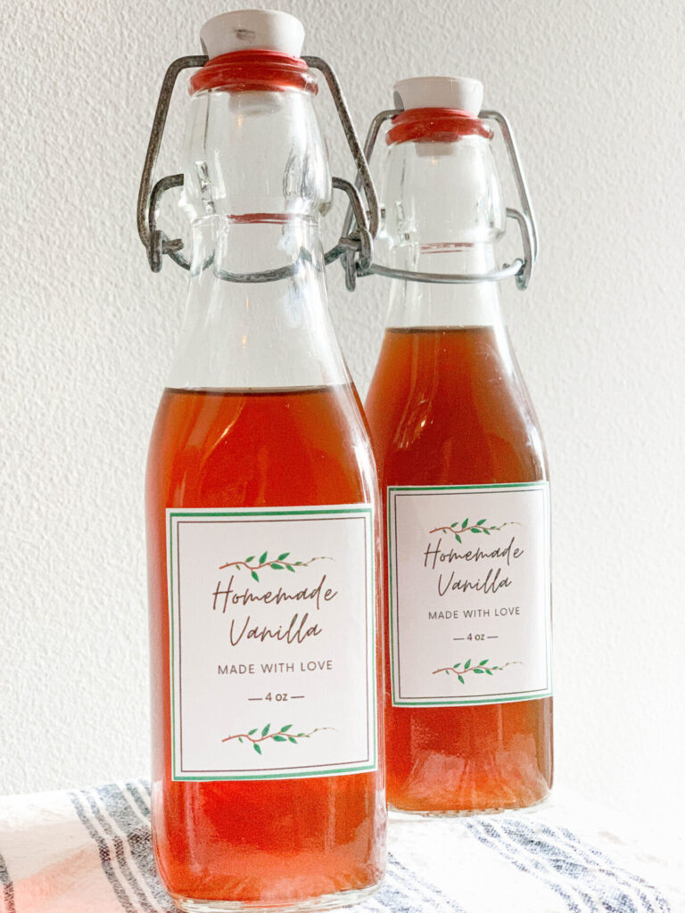 Homemade Vanilla Extract With Just 2 Ingredients