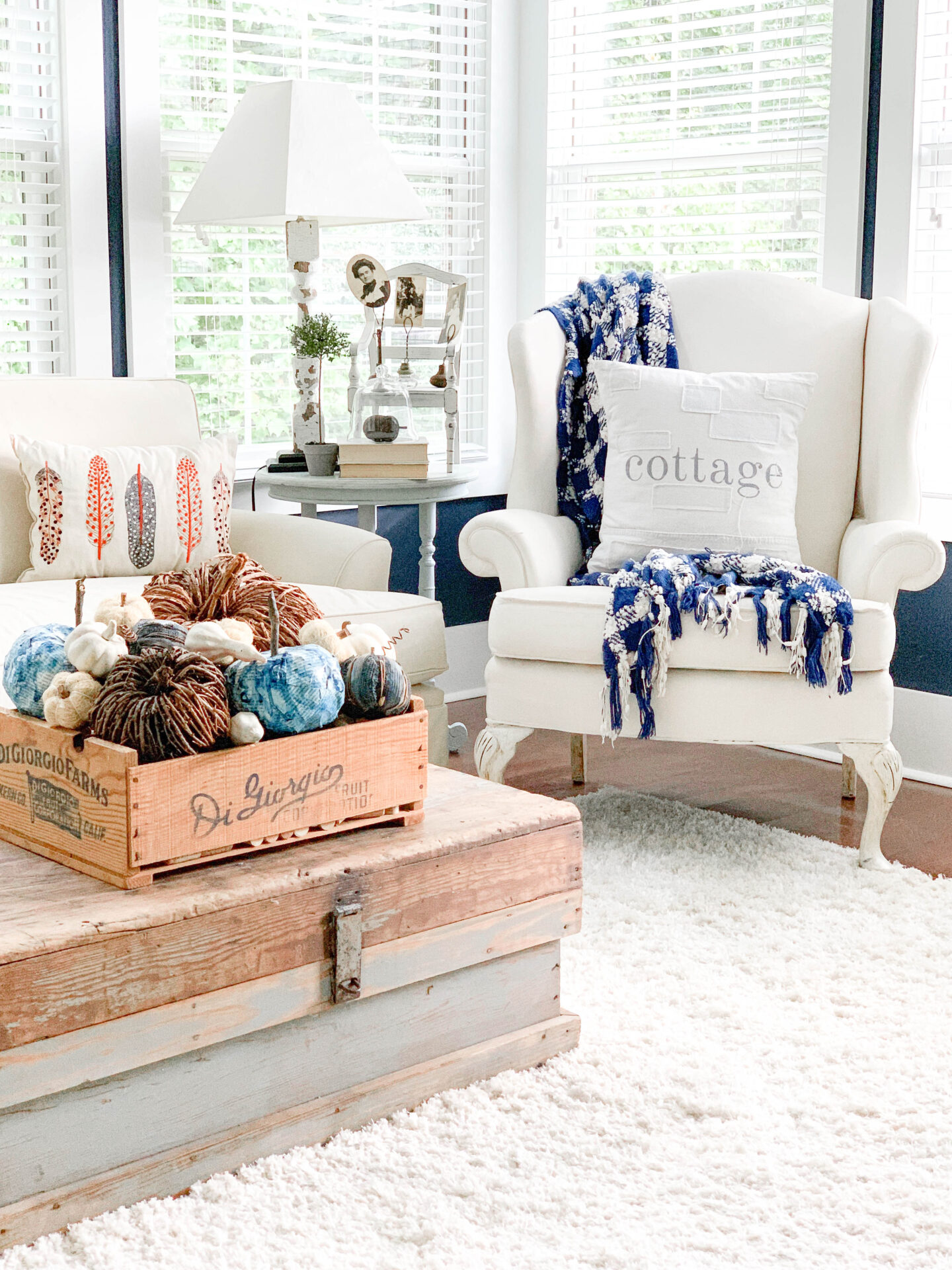 Ready for Fall Living Room Tour