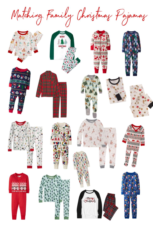 Matching Family Christmas Pajamas 2021 – Sunday's with Santa